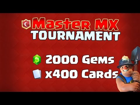 2000 gem Tourny  Live Stream  Saturday Feb 25th Middle of Battle weekend