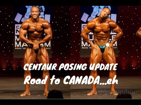Pro Natural Bodybuilding Posing Update ROAD TO CANADA/ WNBF WORLDS