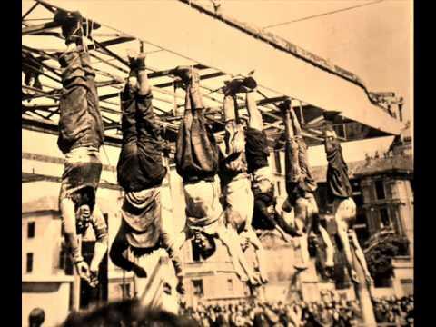 S 1945 04 28   Radio Milano Liberata   Fucilazione di Mussolini