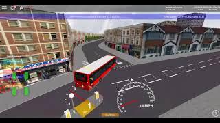 Roblox London & Harrow V2.1 BETA Mercedes Citaro London General (LS RATP) sulla Route H17 da Sudbury