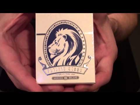 David Blaine - Split Spades Lions deck review(s)