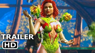 PS4 - Injustice 2 : Girls Trailer (Poison Ivy / Catwoman / Cheetah)