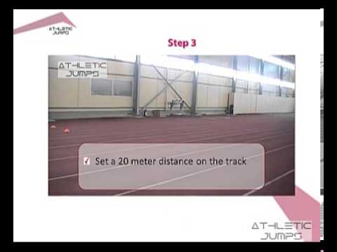 Long jump - Teaching the approach 5/5 (Finding the length of the approach run)