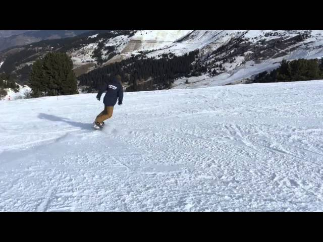 RTM Snowboarding Early Season Jibbin' Meribel Mottaret