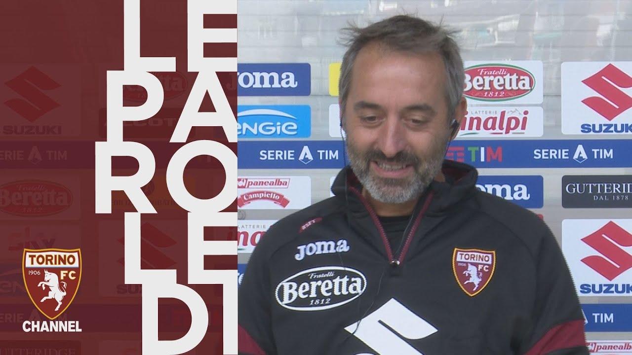 Giampaolo presenta Torino-Atalanta