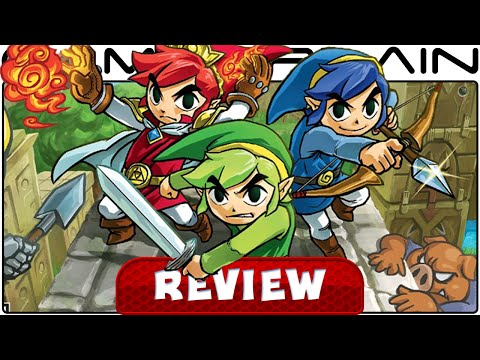 The Legend of Zelda: Tri Force Heroes - Video Review