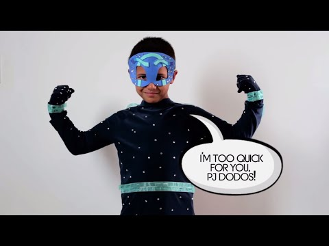PJ Masks Creations - DIY Halloween Costume for PJ Masks NIGHT NINJA | PJ Masks Official #12