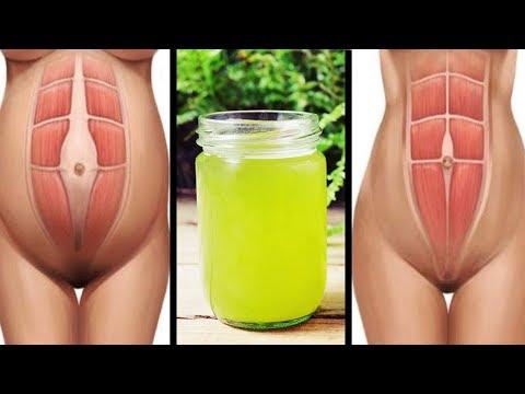 Trink diesen Saft für 7 Tage um Bauchfett den Kampf anzusagen!