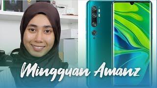 Mingguan Amanz - Xiaomi Mi Note 10, YouTube Premium Malaysia, Adobe Photoshop Camera