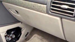 2002 Buick Rendezvous Fuse Box Location