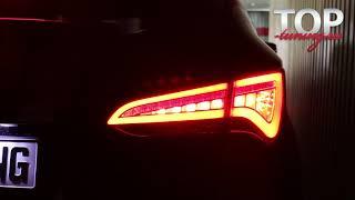 Задние фонари - Тюнинг оптики Hyundai Santa Fe III (DM)