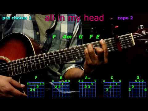 all in my head flex fifth harmony guitar chords
