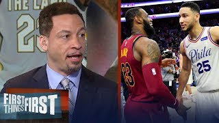 Chris Broussard on why Philly is a good 'basketball fit' for LeBron James | NBA | FIRST THINGS FIRST