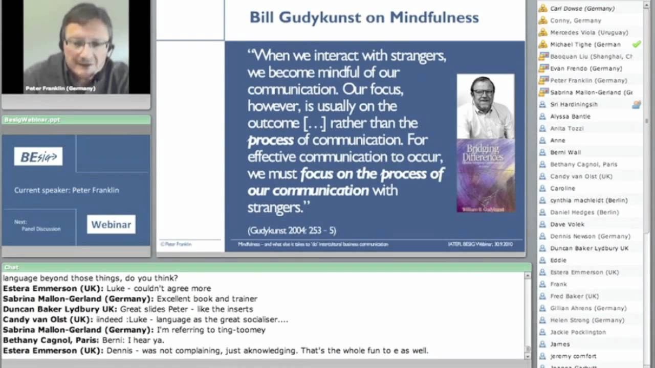 Mindfulness - and what else it takes to 'do' intercultural business  communication (part 2 of 2)