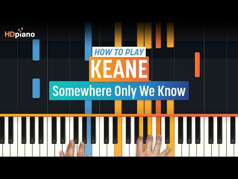 """""""Somewhere Only We Know"""" By Keane 