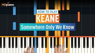 """Somewhere Only We Know"" by Keane 