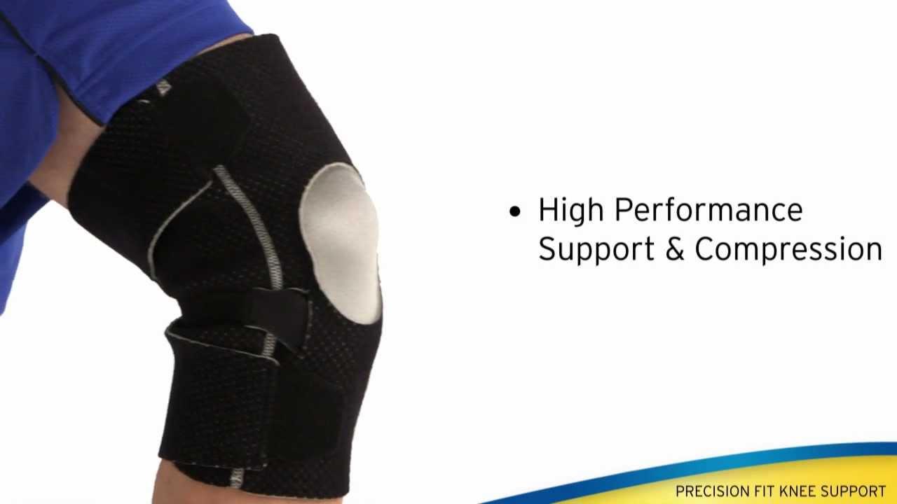 f65d7ba2ba FUTURO™ Precision Fit Knee Support - YouTube