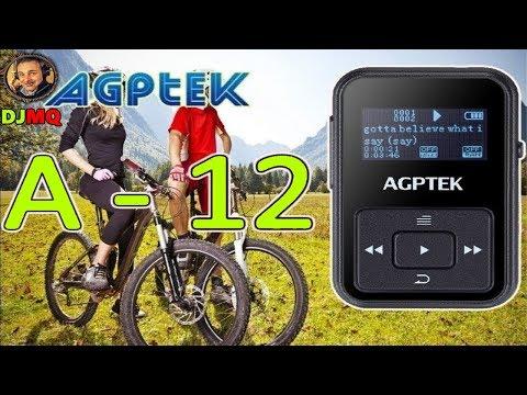 🎬AMAZON►AGPTek Mini-clip lettore MP3 8 GB schermo OLED con Radio FM (ITA)