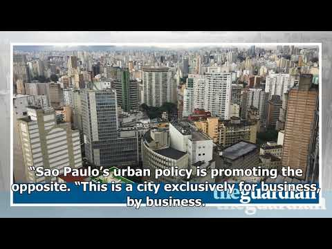 São paulo 'exclusively for business, by business' at expense of urban poor