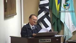 22ª Sessão Ordinária - Vereador Vanderlei Pinatto