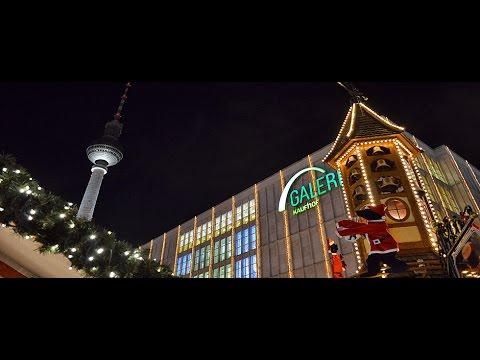 Alexanderplatz Weihnachtsmarkt Berlin 2016 | Christmas Market | Walking POV | Gopro