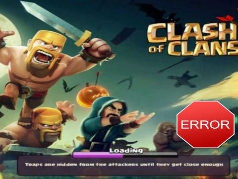 Como arreglar error de Clash of  Clans de conexión