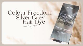 Colour Freedom Silver Grey Hair Dye ♡