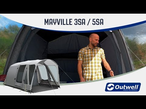 Outwell MAYVILLE 3SA and 5SA 2019 model