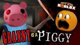 GRANNY IS A PIGGY?!!