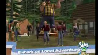 The sims 2 Bon Voyage Official trailer