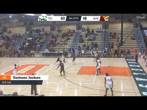 Frederick Douglass vs Sayre School Game Highlights   12 2 17