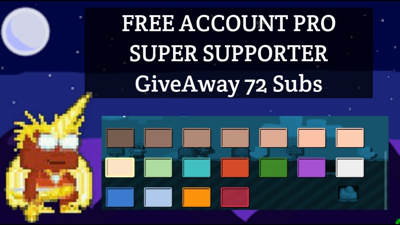 Free Growid Super Supporter Growtopia Enjoy By Bokts Gt