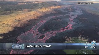 Relocations, land swaps considered for lava destroyed areas