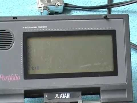 Atari Portfolio packet radio