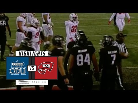 Old Dominion vs. Western Kentucky Football Highlights (2018) | Stadium