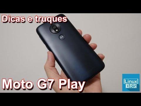 🔘 Motorola Moto G7 Play - Dicas e truques
