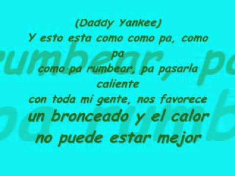 Limbo(Official Remix) Daddy Yankee ft. Wisin y Yandel -karaoke-