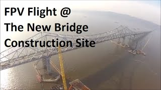 Dji F550 Long Ranger Fpv Flight @ New Bridge Construction Site Part #2