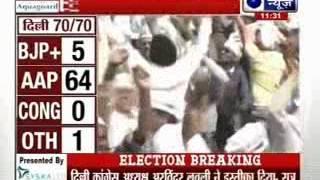 Delhi Election Results: Trends show Arvind Kejriwal's AAP heads for landslide victory