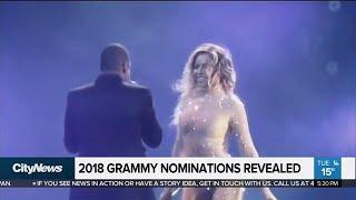 2018 Grammy nominations revealed