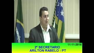 Arilton Rabelo Pronunciamento 11 11 16