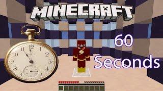 Minecraft 60 Seconds Extreme!!!