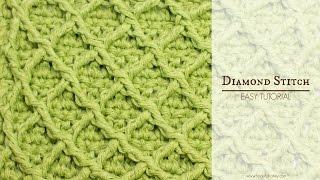 Gehaakte Droomdeken 20 Week 4 Diamantsteek видео с Youtube на