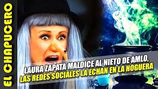 Repudio nacional a Laura Zapata por meterse con recién nacido. Ella la quiso componer y salió peor