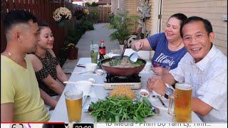 VLog 243 ll cô năm làm món vịt nấu chao ăn tối cùng hai em