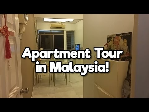 Apartment Tour in Penang, Malaysia (Part 1) | MVlog #1