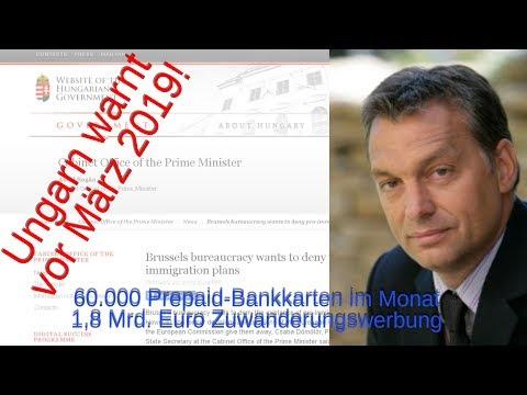 Ungarn warnt: Brüssel zahlt monatlich 60.000 Einreisen und will 1,8 Mrd. € Werbung für noch mehr