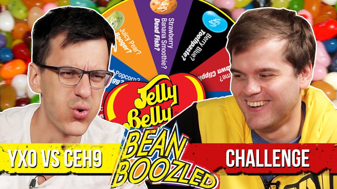 Yxo и ceh9 играют в Live игру — Bean Boozled Challenge.