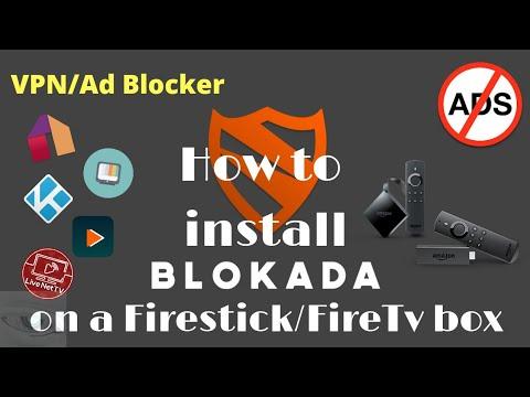 How to install blokada on a firestick