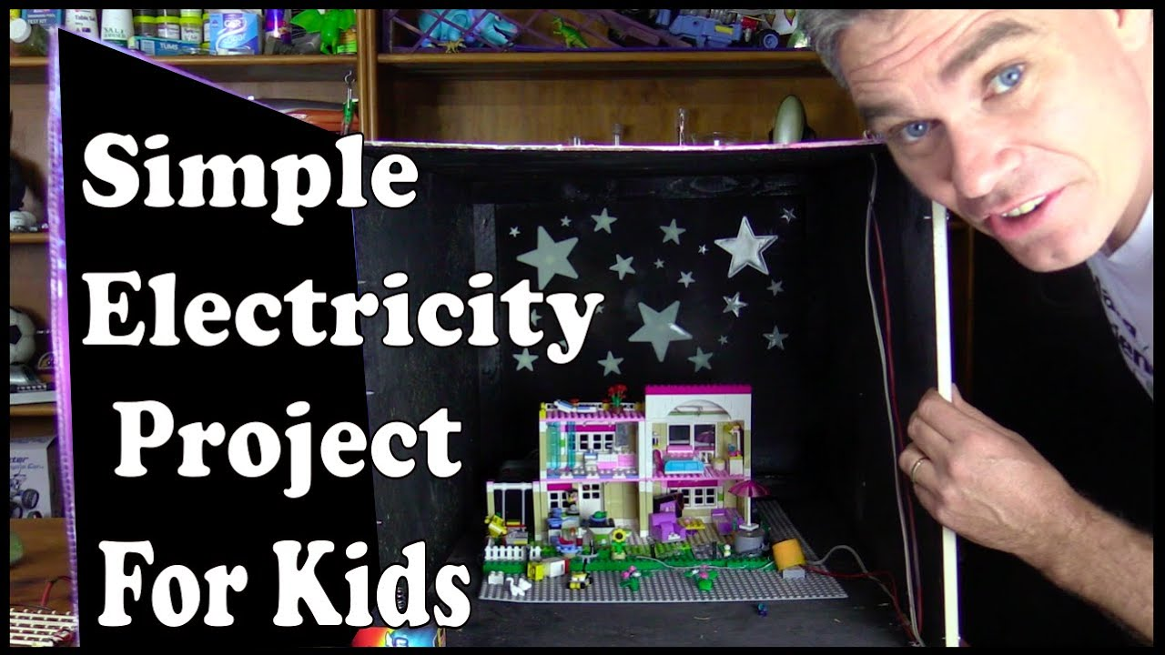 Simple electricity science project for kids – light up ...
